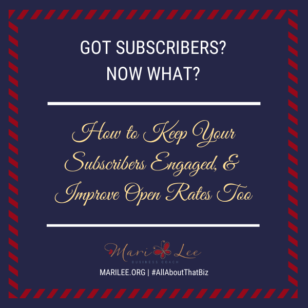 Got Subscribers? Now What?